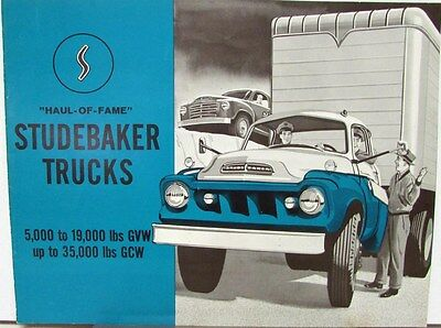 1959 Studebaker Trucks Scotsman & Deluxe Series Sales Brochure Original