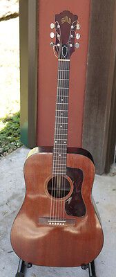 Guild D25 Vintage 1971 Acoustic Guitar - Fair Condition