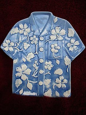 Navelty Dish, Cute Little Hawailan Shirt