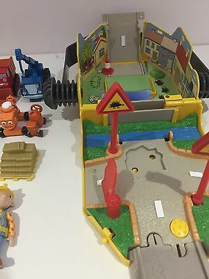 Jack Hammer Bob The Builder Play Set Toys Micro Vehicles Mini Figures Christmas