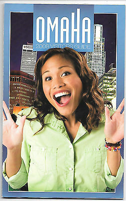2008 Omaha Visitors Guide And Map