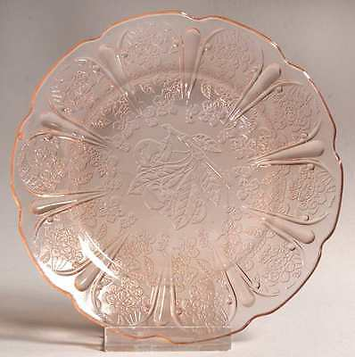 Jeannette Glass CHERRY BLOSSOM PINK Child's Plate 286025