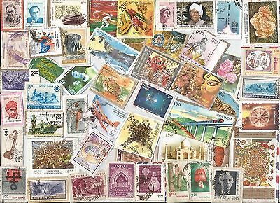 A  Fresh New Selection Of Kiloware Stamps From India