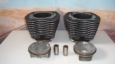 """CYLINDERS """"Jugs"""" Pistons Rings 110"""" CID Harley HARLEY Fits CVO Touring Dyna X6"""