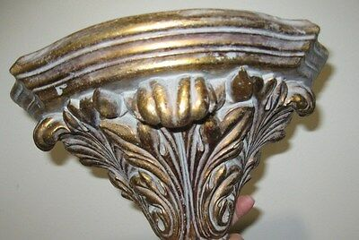 Vintage Carved Wall Shelves Brackets Chic