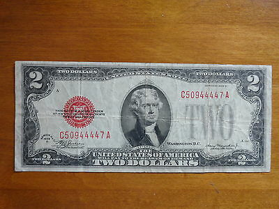 1928 D US $2.00 Note!!