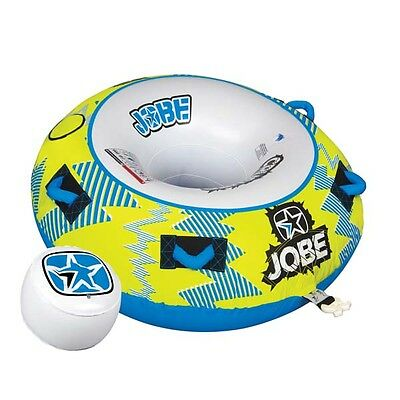 Jobe 2016 Crusher 1 Person Towable Ski Tube Inflatable Biscuit Boat Ride
