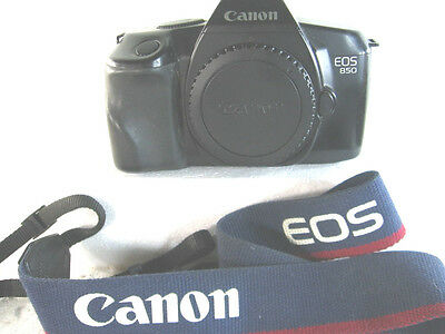 Canon EOS 850 Body Only 35mm Film Camera TESTED