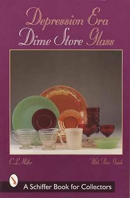Dime Store Depression Glass Collectors Guide incl Tumblers Fire-King & More!