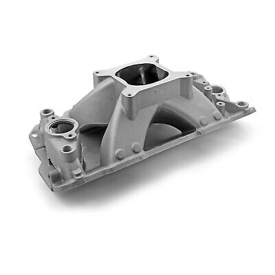 Chevy SBC 350 Shootout 1957-95 High Rise Intake Manifold Satin