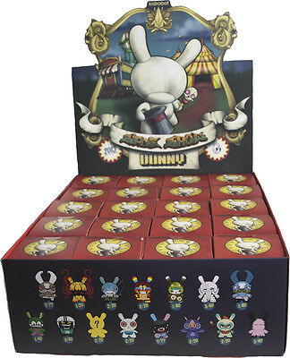 "KIDROBOT - Dunny 3"" Series 2013 Blind Box Vinyl Figurines Display (20ct) #NEW"