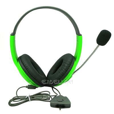 Gaming Headset Headphone Slim Wireless Controller with Mic for Xbox 360 Live New
