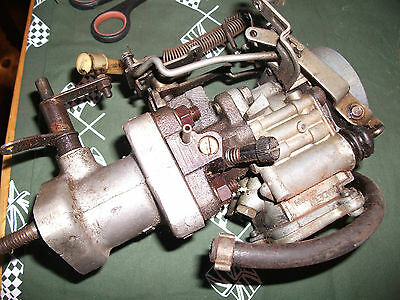 Nikki Twin Choke Carb for VW beetle 1600 manifold air cooled engine.