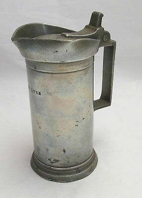 French 19th Century Half Litre Measure / Tankard - Leclerc Humbert a Lille