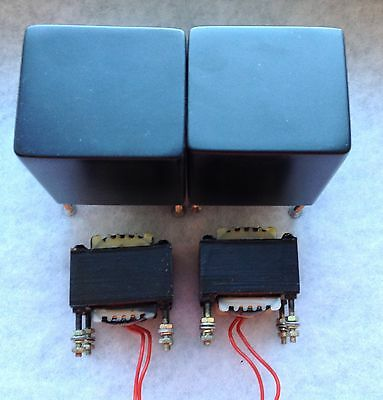40H ANTIQUE SOUND LAB Audio Choke Inductor Preamplifier Pair Covers