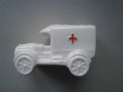 Ww1 Ambulance By Trigod With Arms Of Birmingham On Roof Crested China