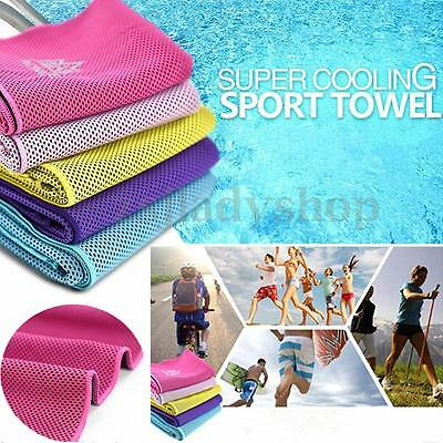 AONIJIE Ice Cold Towel Outdoor Sport Running Cycling Jogging Hiking Cool Towel