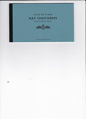 Raf Uniforms Prestige Booklet and Fdc