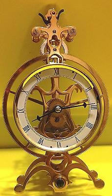 Great Wheel mini Skeleton Clock Kit--Assemble Your Own Skeleton Clock
