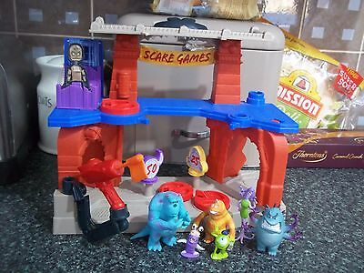 Monster University Scare Games Playset (sounds) with Figures