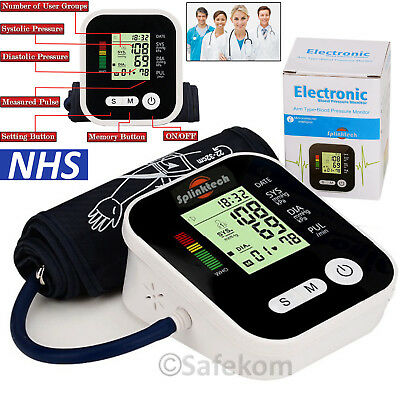 Aneroid Sphygmomanometer Nylon Cuff Blood Pressure Meter+Stethoscope Medical Kit