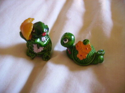 2 Small Tortoise Ornaments by Ferraro, #8 & 14