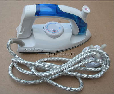 New Travel Steam Iron Dual Voltage Compact For Holiday