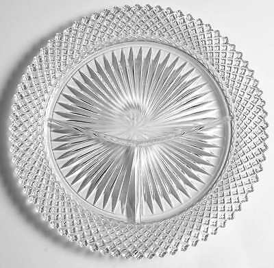 Anchor Hocking MISS AMERICA CLEAR Grill Plate 6099