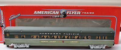 S Gauge-American Flyer 6-48925 Northern Pacific Passenger North Coast Limited
