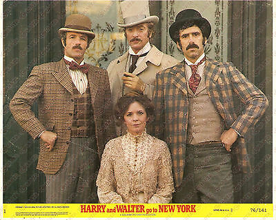 1976 HARRY AND WALTER GO TO NEW YORK Michael CAINE Diane KEATON *Foto seriale