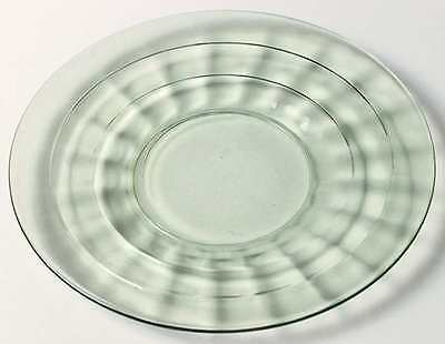 Anchor Hocking BLOCK OPTIC GREEN Bread & Butter Plate 3664479