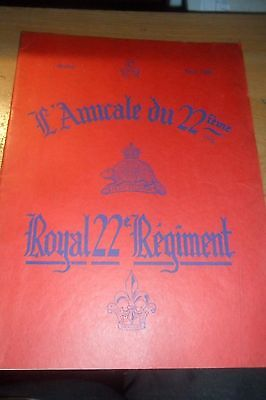History of The Carleton & York Regiment New Brunswick  Published by the 22nd Reg