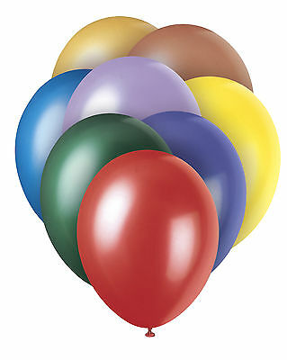 "12"" (30cm) High Quality LATEX BALLOONS Birthday Party Decorator Helium Airfill"