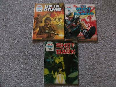 3X War Picture Library Comics #1687 #1772 #1889  (1979-80-81)