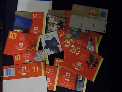 20 Empty Machin Greeting And Christmas Booklets All Different Ideal For Display
