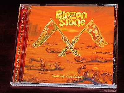 Blazon Stone: War Of The Roses CD 2016 Stormspell Records USA SSR-DL-199 NEW
