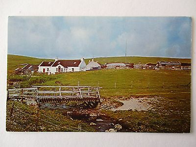 Britains Most Northerly House , Skaw , Unst , Shetland