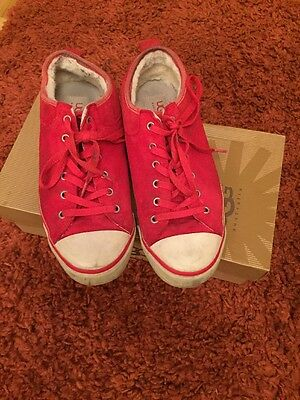 Women's Red Ugg Trainers Size 6.5