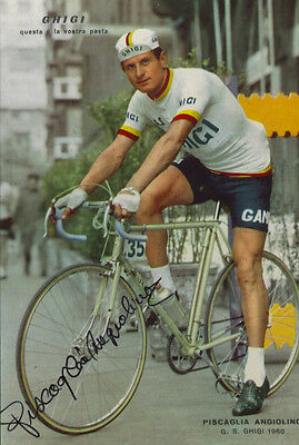 cyclisme ciclismo cycling wielrennen ANGIOLINO PISCAGLIA signé