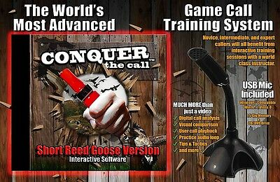 New Conquer the Call Interactive Game Call Training Software Goose Call Version