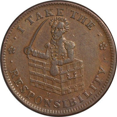 Hard Times Token - Pleasing Circulated Example!