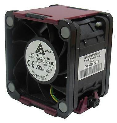 HP CAGE Fan Assembly For Dl380 G6 / Dl385 G5P 463180-001