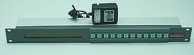 Sierra Video SCP-112 Programmable Video Router LCD Control Panel