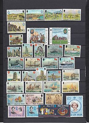 Isle Of Man Superb 1980's Mnh Collection !!!!!!!!!!!