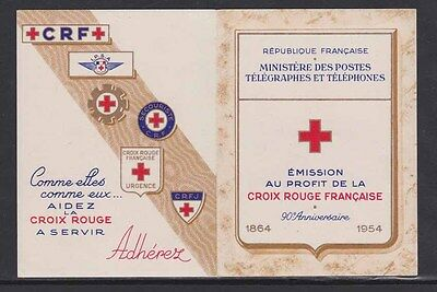 France 1954. Carnet 'croix-Rouge' Neuf Xx. Superbe - Luxe  180€  [K173]