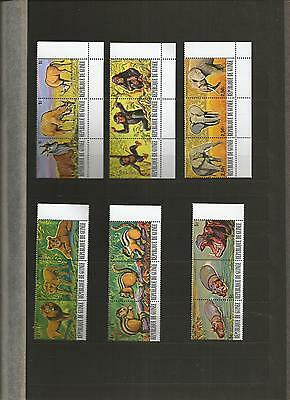 Guinea Animals 36 Stamps Scott 752-7 And C137-42 Mnh Scv $51--- 2 Pictures