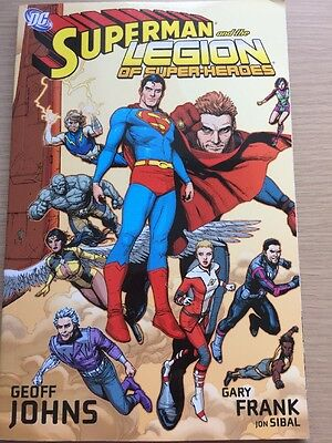 DC Superman And The Legion Of Superheroes Comic Book
