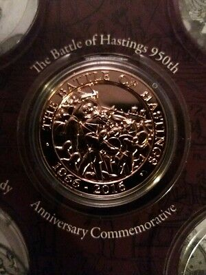 1066 Battle Of Hastings 950Th Anniversary Medal