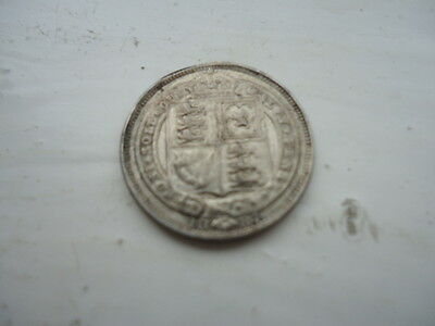 Queen Victoria 1887 Sixpence