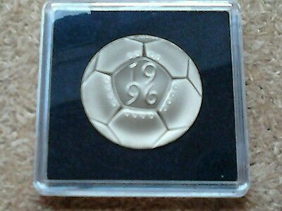 1996 Proof Football Two Pound £2 Coin In Square Capsule.